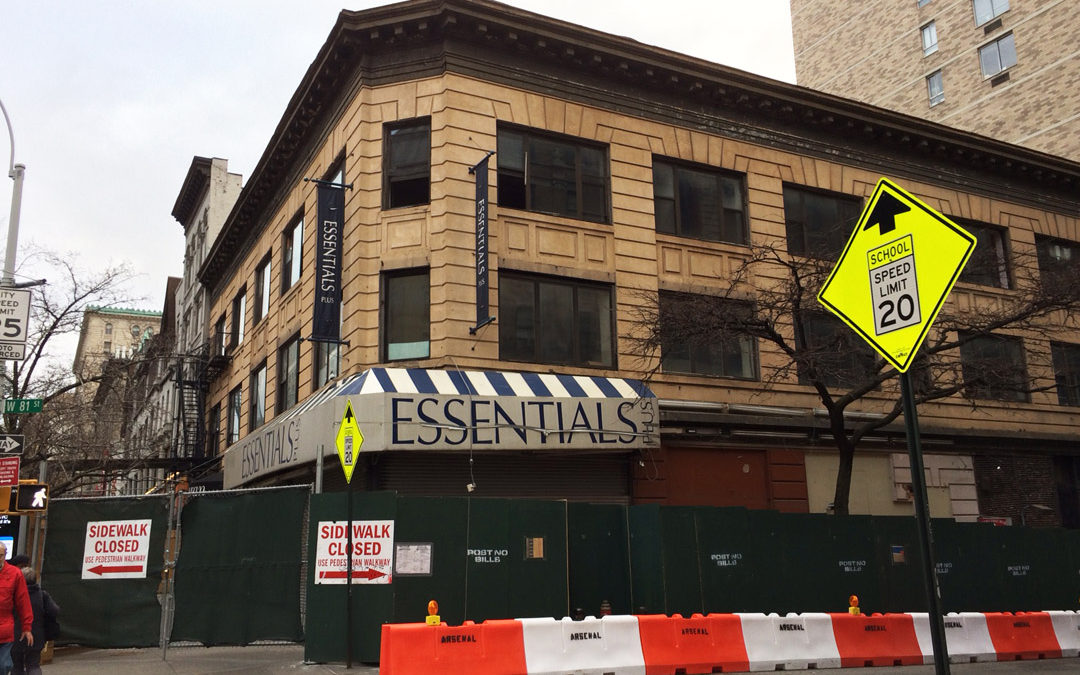 Construction/Demolition Moves Forward at Broadway & 81st St
